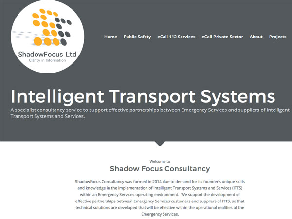 Shadow Focus Consultancy Web Design